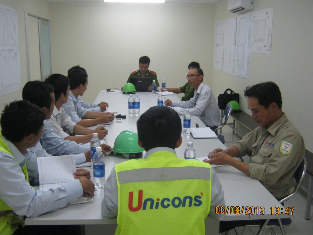 Dự án huấn luyện PCCC tại Công trường PepsiCo Q413