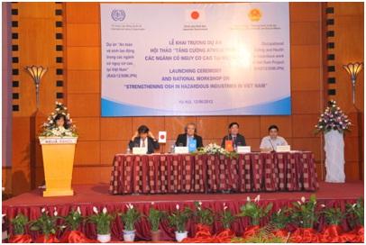 Triển khai dự án an toàn vệ sinh lao động trong các ngành có nguy cơ cao ở Việt Nam