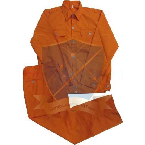 Quần áo bảo hộ vải kaki Nam Định L2 các mầu