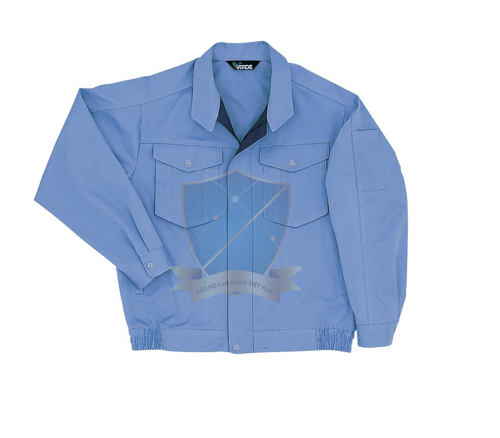 May áo khoác bảo hộ lao động mẫu 3