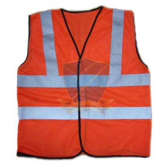 Áo phản quang vải thoáng kiểu 1