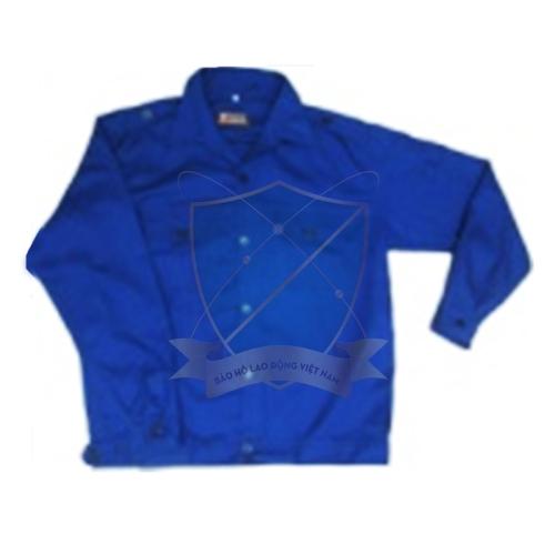 Áo bảo hộ kaki păng rim 2721 màu ghi + xanh dương