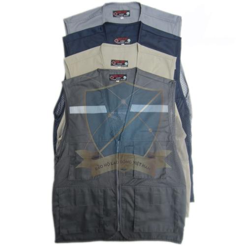 Áo gile phản quang vải kaki Hàn Quốc các loại