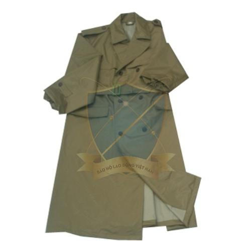 Quần áo mưa bảo hộ quân nhu x26 dạng măng tô