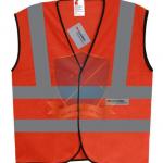 An toàn tiện lợi với áo gile phản quang