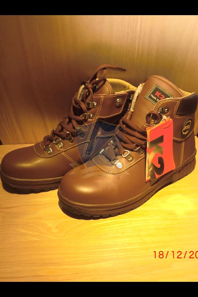 Giày da bảo hộ K2 Hàn Quốc