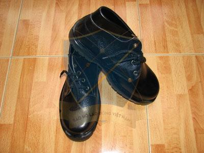 Giày da bảo hộ Xuân lan cao cổ