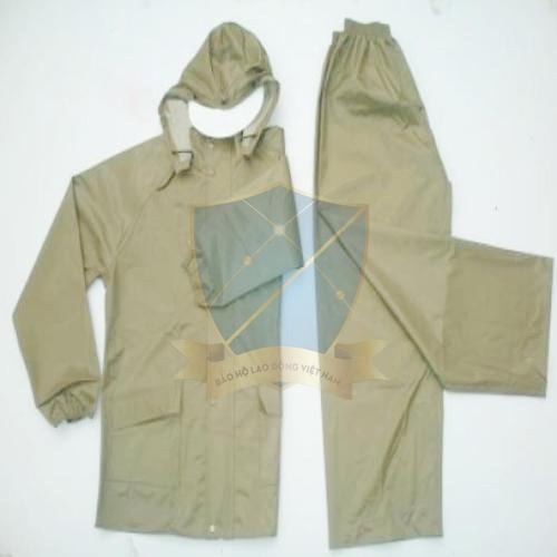 Quần áo mưa bảo hộ quân nhu x26 dạng bộ rời