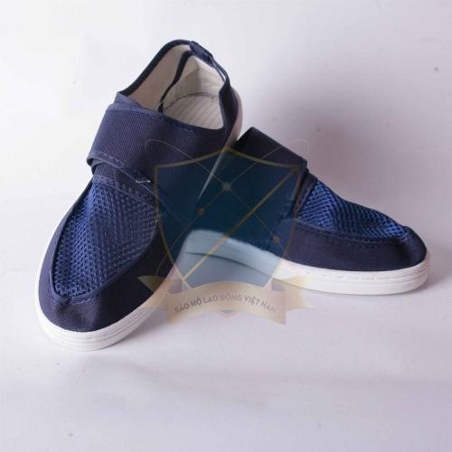Giày phòng sạch xanh đậm Việt Nam chống tĩnh điện