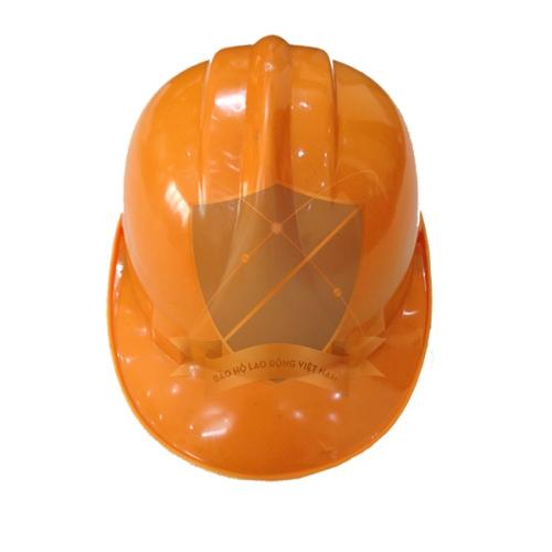 Mũ bảo hộ Nhật Quang loại 1 màu vàng cam