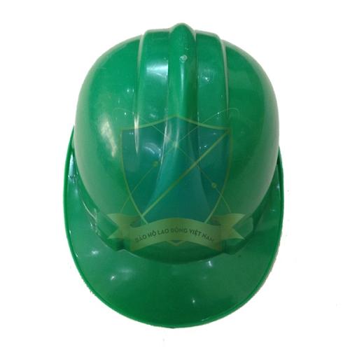 Mũ bảo hộ Nhật Quang loại 1 màu xanh lá cây