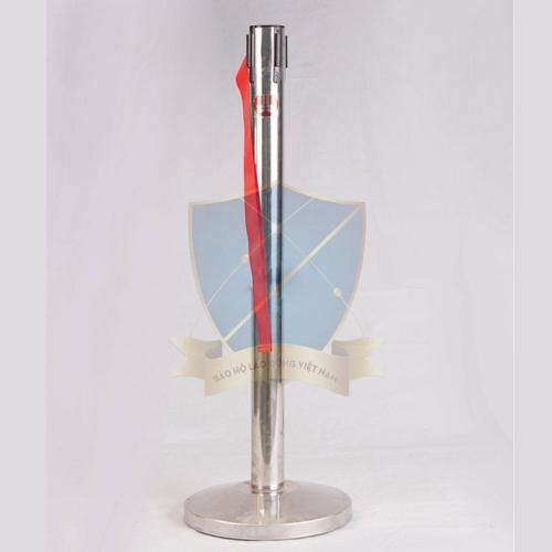 Cột phân cách inox hình trụ 90cm