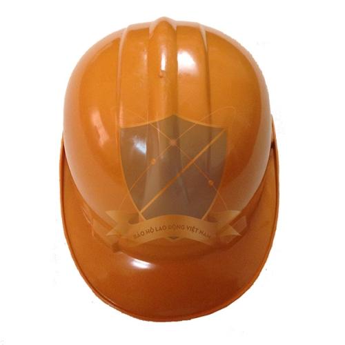 Mũ bảo hộ Nhật Quang loại 2 màu vàng