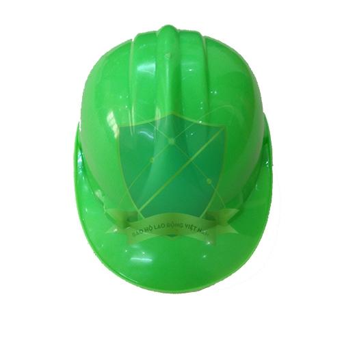 Mũ bảo hộ Nhật Quang loại 1 màu xanh nõn chuối