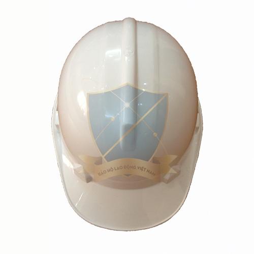 Mũ bảo hộ núm vặn NQ-N40 màu trắng