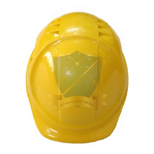 Mũ bảo hộ xuất khẩu Úc màu vàng