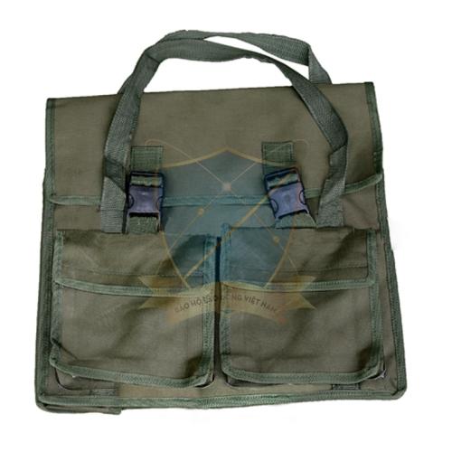 Túi đựng dụng cụ vải bạt to xách tay
