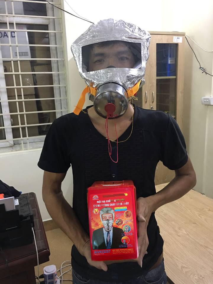 mặt nạ chống cháy chống khói