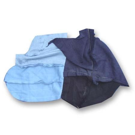 Giẻ lau cotton các màu loại nhỏ