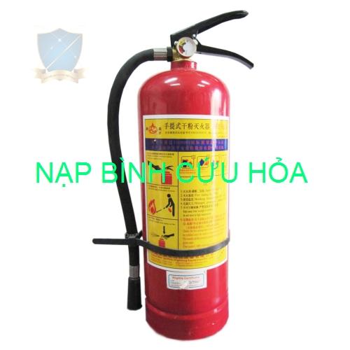 Nạp bình cứu hỏa MFZ4 ABC – BC