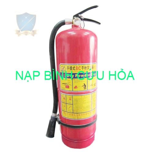 Nạp bình cứu hỏa MFZ8 ABC – BC