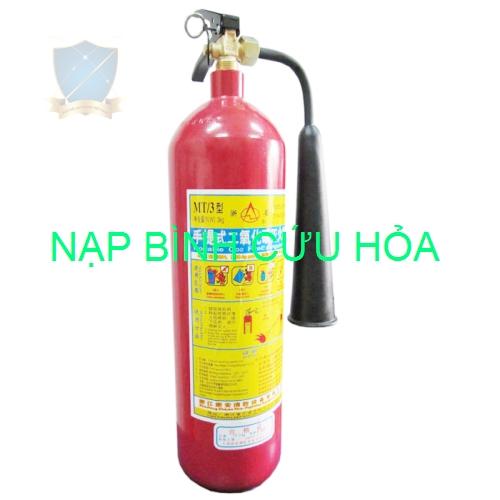 Nạp bình chữa cháy Co2 MT3
