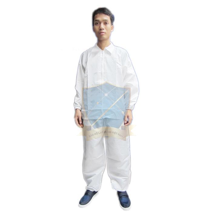 Quần áo chống tĩnh điện Việt Nam dạng rời