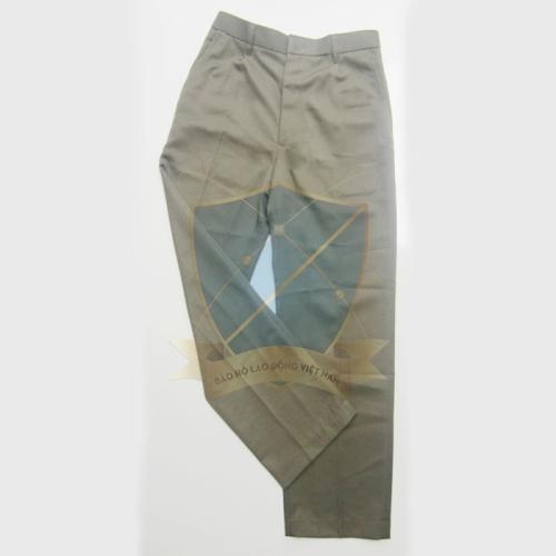 Quần âu bảo hộ vải dạ màu đất – Sẹc sịn