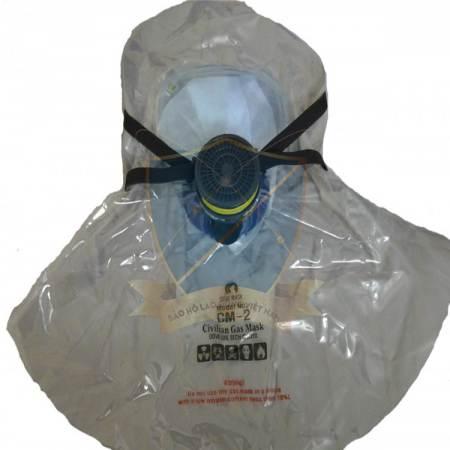 Mũ thoát hiểm trùm đầu phòng khói độc Hàn Quốc