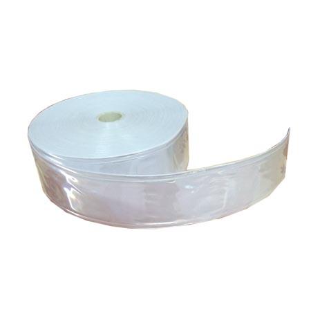 Dây phản quang nhựa bản 5cm màu trắng