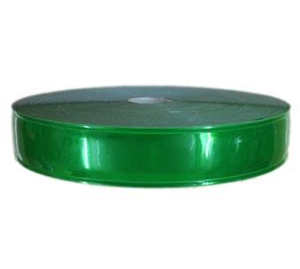 Dây phản quang nhựa bản 2.5cm màu xanh lá