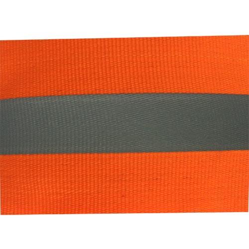 Vải phản quang pha màu cam bản 5cm