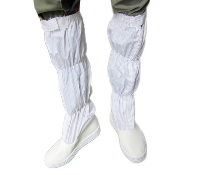 Giày phòng sạch chống tĩnh điện màu trắng