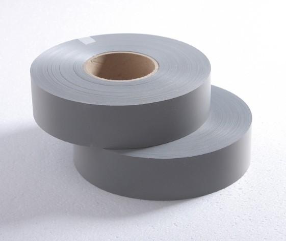 Vải phản quang pha màu ghi bản 2.5cm