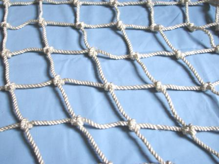 Lưới an toàn Việt Nam mắt 10x10cm đường kính sợi Φ8