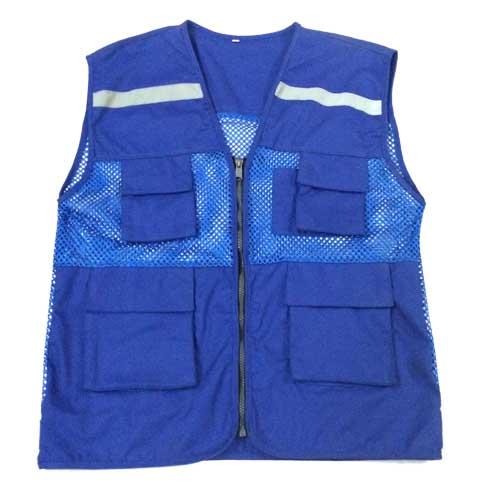 Áo gile phản quang lưới to có 4 túi hàng đẹp