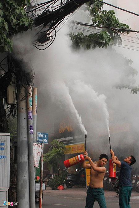 Cháy lớn ngay giữa trung tâm Sài Gòn