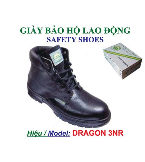 Giày da bảo hộ lao động Dragon 3NR