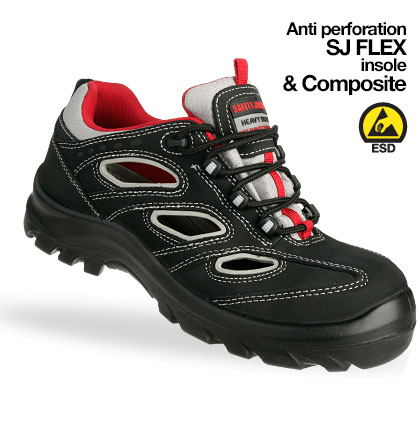 Giày da bảo hộ jogger Alsus S1P
