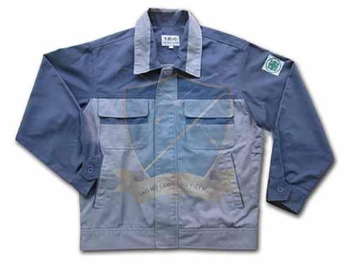 Áo khoác bảo hộ vải liên doanh Hàn Quốc 2 lớp