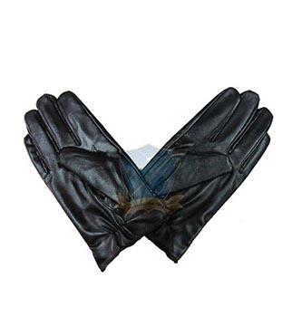 Găng tay chống lạnh (găng xe máy da đen)