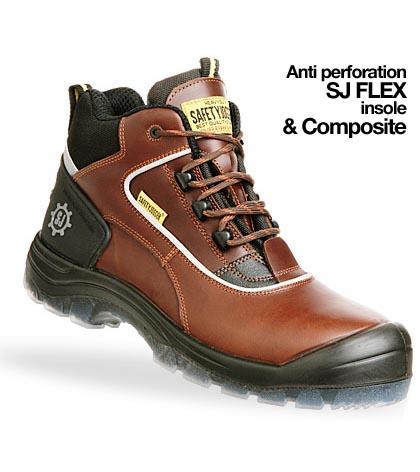 Giày da bảo hộ jogger Geos S3