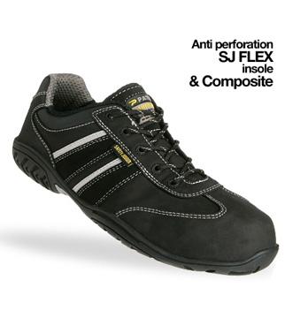 Giày da bảo hộ jogger Lauda S3
