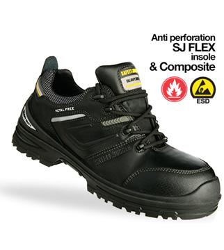 Giày da bảo hộ jogger Elite S3 HRO
