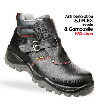 Giày da bảo hộ jogger Mercurius S3 HRO
