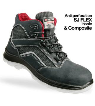 Giày da bảo hộ jogger Mountain S1P