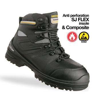 Giày da bảo hộ jogger Premium S3 HRO