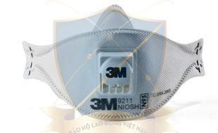 Khẩu trang giấy 3M N95 9211 có van