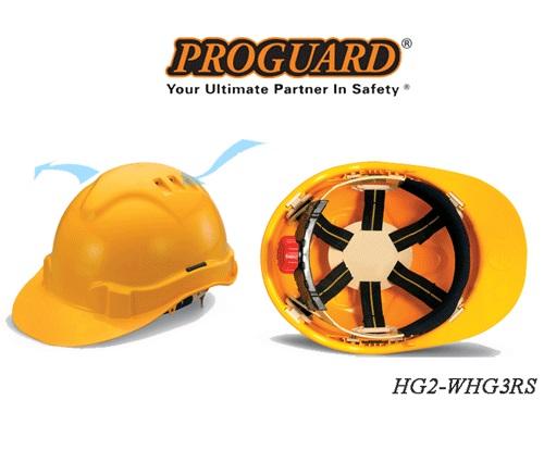 Mũ bảo hộ Malaysia HG2- WHG3RS