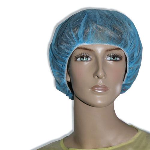 Mũ giấy bao tóc vải màu xanh